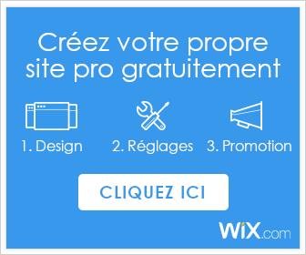 Créer un site gratuitement avec Wix